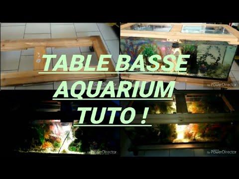 Aquarium Table Basse Fait Maison