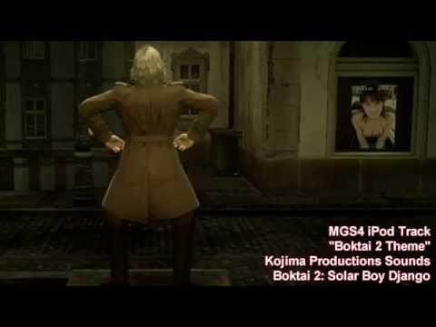 Metal Gear Solid 4 - iPod Track -  Boktai 2 Theme