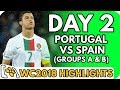 Portugal vs Spain AND MORE (World Cup 2018 [Group A & B]: Day 2) - Highlights Before They Happen