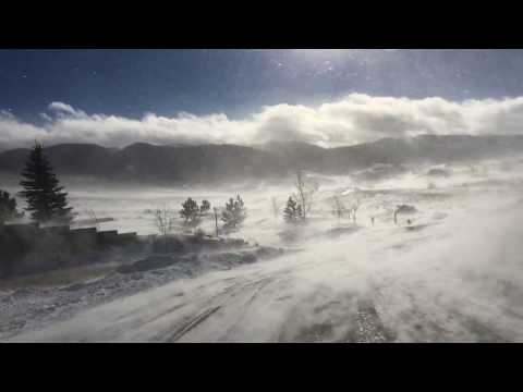 Watch The Wyoming Winter Wind Billow Through Casper