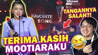 Dapat Penghargaan Telkomsel Awards 2021 Maafkan Aku Terlanjurmencinta Di Kategori Favorite Song MP3