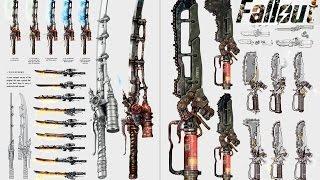 Fallout 4 TOP 7 Оружие ближнего боя с модификациями.