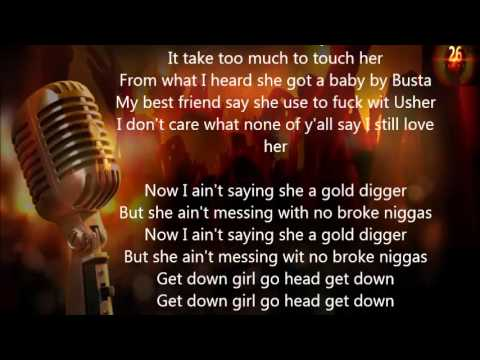 Kanye West  -  Gold Digger Lyrics