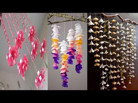 6 DIY ROOM DECOR WALL HANGING IDEAS WITH PAPER | PAPER CRAFT WALL HANGING | Easy PAPER Crafts Ideas