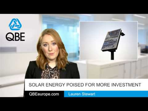 Solar energy poised for more investment