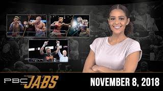 PBC Jabs: November 8, 2018