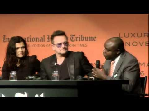 Ali Hewson, Bono, Renzo Rosso talk sustainable fashion