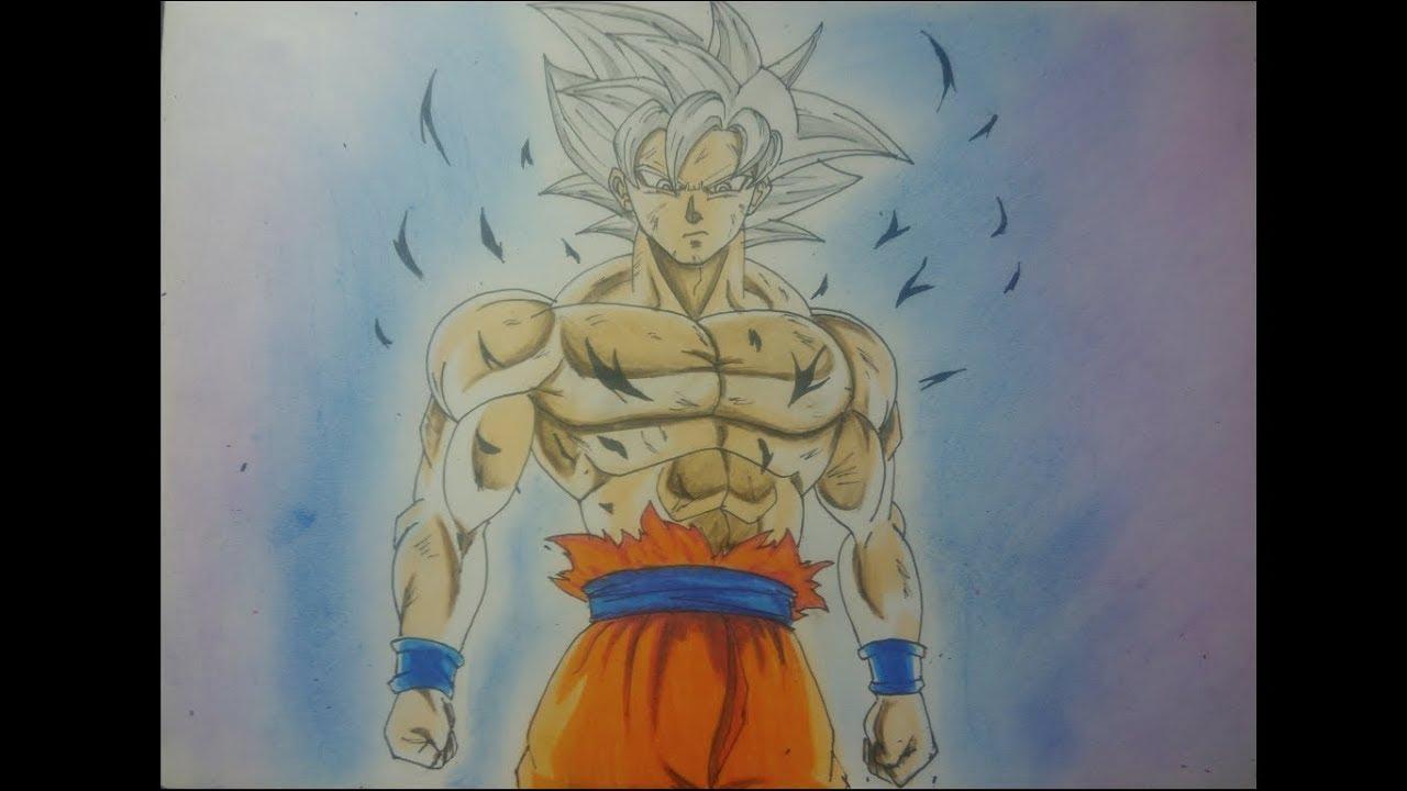 50 Imágenes De Goku Para Dibujar: Colorear Goku Goku Ultra Instinto Dominado Para Colorear