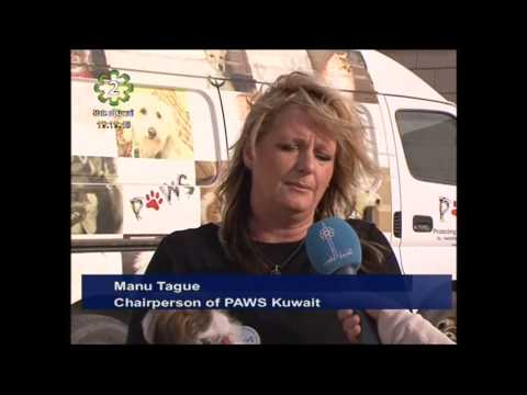 PAWS Kuwait provides shelter to abandoned animals