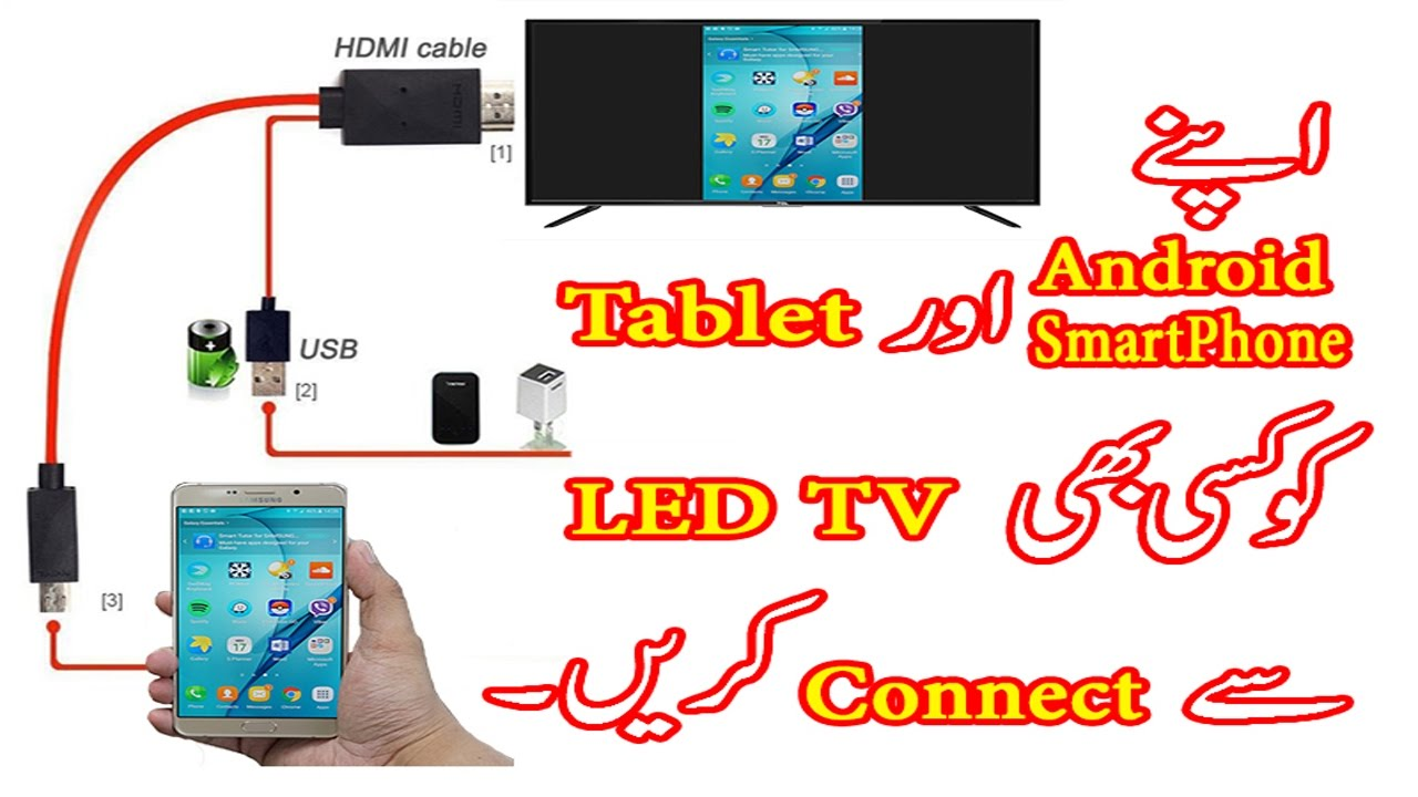 Phone Outlet Wiring Diagram Creative Color Wheel Ideas Connect Your Android Smartphone/tablet To Any Led Tv (urdu/hindi) - Youtube