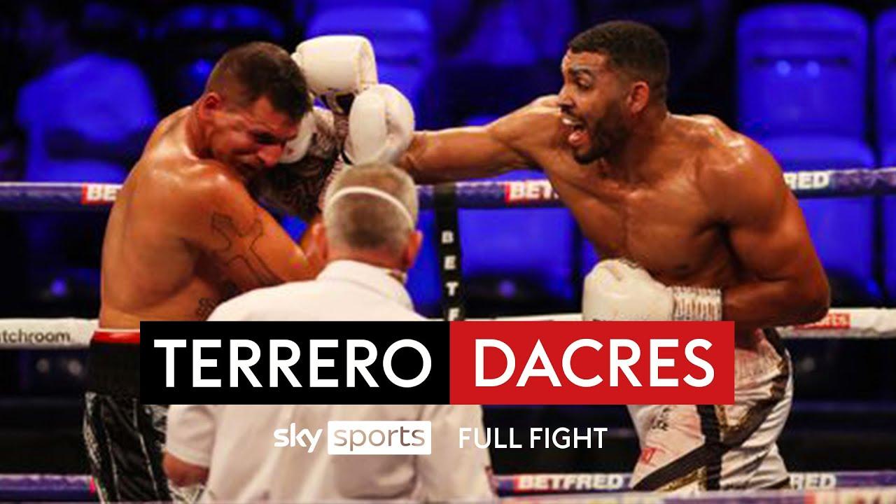 Fourth round stoppage! 🥊 | Solomon Dacres vs Alvaro Terrero | Full Fight