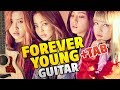 BLACKPINK FOREVER YOUNG Fingerstyle Guitar Cover Tabs Chords mp3