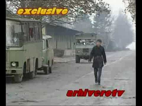 Yugoslav Army Jna Leaving Zagreb Before The War Youtube