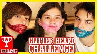 GLITTER BEARD CHALLENGE!  |  KITTIESMAMA