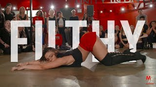 "YANIS MARSHALL HEELS CHOREOGRAPHY ""FILTHY"" JUSTIN TIMBERLAKE. FEATURING JADE  CHYNOWETH."