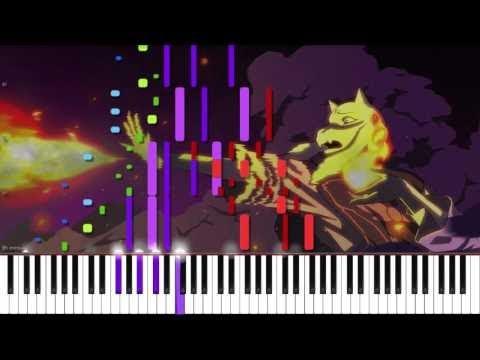 Undertale // Heartache // Duet | LyricWulf Piano Tutorial on Synthesia OST 14
