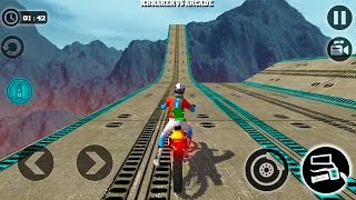 Impossible Motor Bike Tracks New Motor Bike Unlocked - Android GamePlay 2017 thumbnail