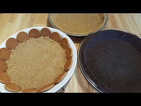 3 Different No Bake Pie Crusts - The Hillbilly Kitchen