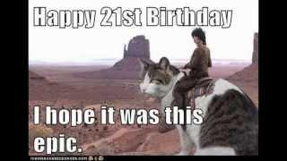 Happy Birthday Eric( Finally 21)
