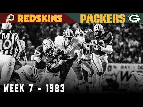 [NFL Throwback] The Second Highest Scoring Monday Night Football Game (Redskins vs. Packers 1983)