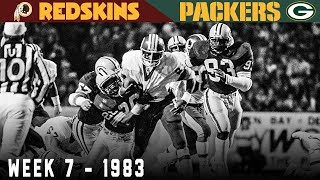 The Second* Highest Scoring Monday Night Football Game EVER! (Redskins vs. Packers, 1983)
