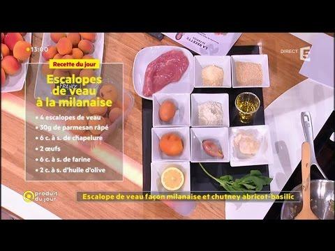 escalope-de-veau-façon-milanaise-et-chutney-abricot-basilic