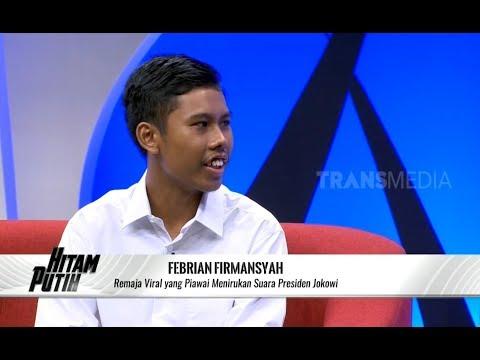Febrian, Remaja Yang Suaranya Mirip Presiden Jokowi | HITAM PUTIH (30/10/19) Part 4