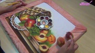 Pintando com Márcia Spassapan – Cesta com Frutas