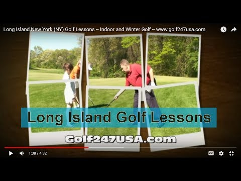 Long Island New York (NY) Golf Lessons -- Indoor and Winter Golf -- www.golf247usa.com