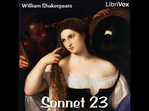 Full Audio Book | Sonnet 023 by William SHAKESPEARE read by Various