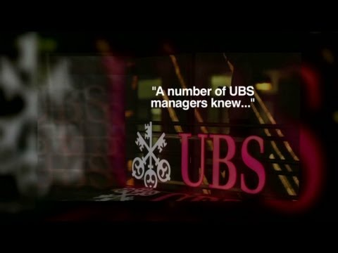 Record fine for UBS