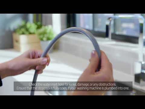 How To Adjust The Water Pressure In Your Washing Machine – Samsung