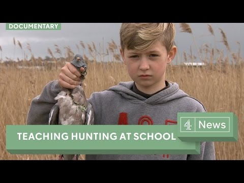 School teaches hunting, butchery and outdoor skills