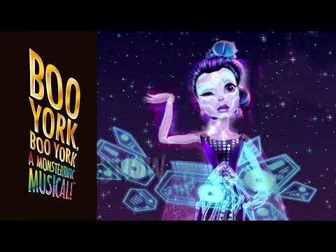 """Shooting Stars"" Lyric Music Video   Boo York, Boo York   Monster High"