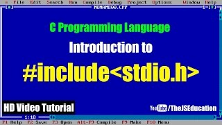 "What is ""#include stdio.h"" in C Programming Language 