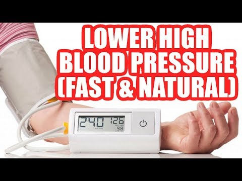 How to Lower High Blood Pressure Naturally (FAST + HOME REMEDIES) - No Medication!