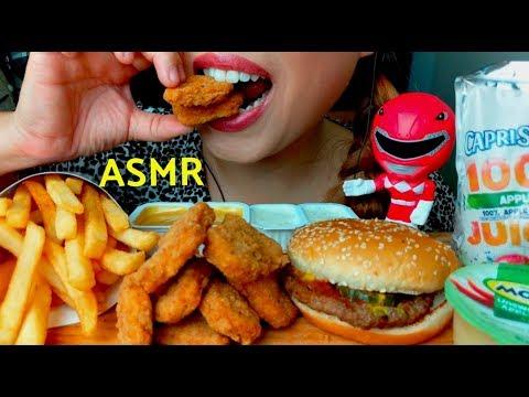 I'M PREGNANT ASMR *emotional* Kid's Meal Cheeseburger & Chicken Nuggets suellASMR