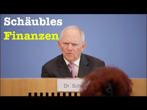 """""""Austerität"""" sagt man nicht: Wolfgang Schäuble, schwäbischer Hausmann - BPK vom 15. März 2017"""