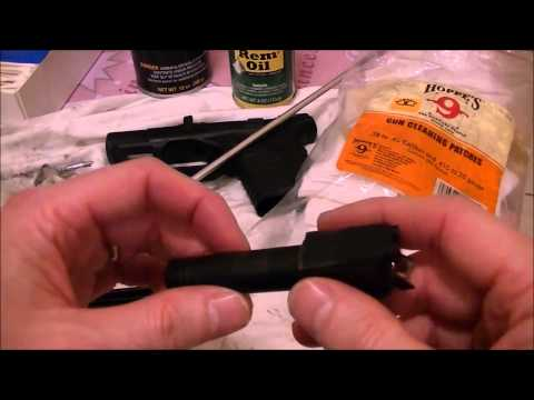 How to clean your pistol? (For new handgun owners)