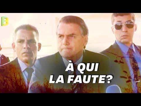 Jair Bolsonaro insinue (sans aucune preuve) que des ONG sont derrière les incendies au Brésil