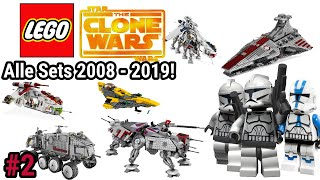 TEIL 2! | Alle LEGO Star Wars The Clone Wars Sets | 2008- 2019 | Teil 2 Brickstory