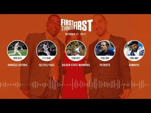 First Things First audio podcast(10.17.17)Cris Carter, Nick Wright, Jenna Wolfe | FIRST THINGS FIRST
