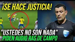 BRASIL VS PERU CONMEBOL INICIÓ INVESTIGACIÓN DE OFICIO A ROBERTO TOBAR SELECCION PERUANA