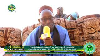 Interview de S. Moustapha Diop Koki | Journée national des orphelins Édition 2019 à Touba