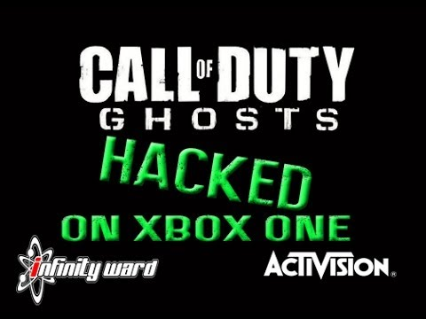 Call of Duty Ghosts Hacked On Xbox One! (Commentary/Hacker Montage)