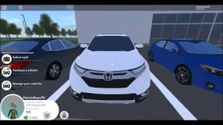 2017 Honda CRV 1.6 EL 4WD Pembroke Pines FL Roblox (Testfahrt)