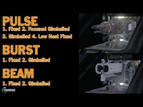 Elite: Dangerous. Pulse, Burst and Beam Laser Overview
