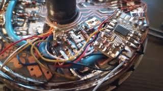 Мотор колесо с компьютером внутри , сборка, часть 2