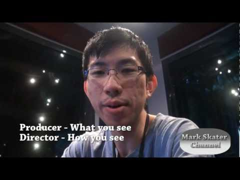 Vlog 64a) Differences between Producer & Director