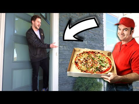 ORDERING FOOD TO MODEL HOMES!